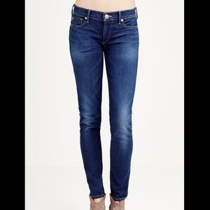 True Religion Low Rise Super Skinny Case J…